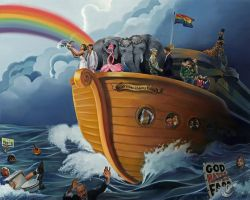 Noah's Gay Wedding Cruise: MarriageEvolved Edition by paulypants
