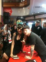 corey taylor and me by PoisonBlackheart