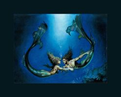 MERMAIDS - BORIS STUDY 1 by cowboys8822