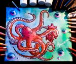 Octopus by DracoPhobos