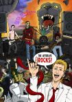 Afterlife Inc - The Afterlife ROCKS! Pin-up by sebcarey