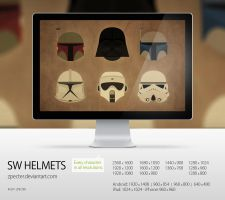 wallpaper 70 SW Helmets by zpecter