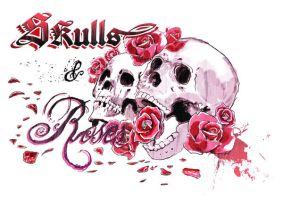 SKulls and Roses by Tetsuo78
