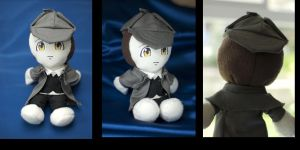 Data Sherlock Holmes Plushie by fivefootnothing