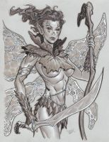 Fairy Warrior by MichaelDooney