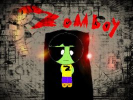 me dressed up as Zomboy (Halloween compition) by pedrom123