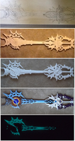 young xehanort keyblade progress by finaformsora