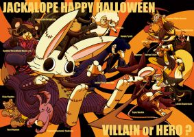 Jackalope Happy Halloween (2011) by hi6sho