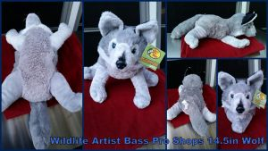 Wildlife Artist Bass Pro Shops wolf 14.5in by Vesperwolfy87