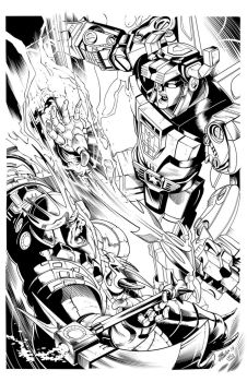 Voltron by Inker-guy
