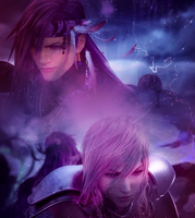 Light x Caius XIII-2 Poster by Sweet-Miss-Valentine