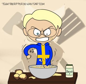 Swedish Meal Time by TsukiTheRipper