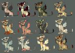 Winged Lion Adoptables #4 by Kitchiki