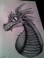 Dragon by JakeChild