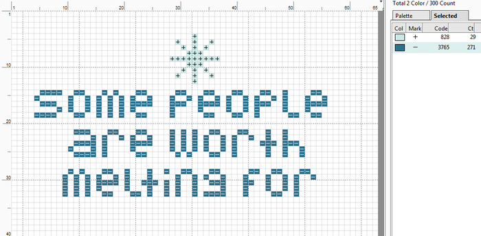 Frozen Cross Stitch by puppyrock3