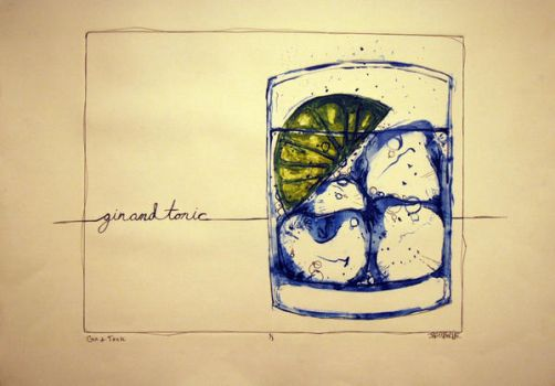 Gin and Tonic by FrankOsborne