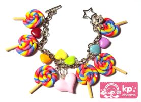 lollipops bracelet 2 by KPcharms