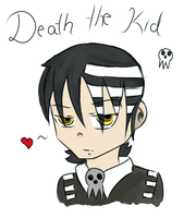 Death the kid - Soul Eater by Tawiie