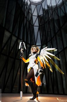 Heroes Never Die! Mercy - Overwatch by Shappi