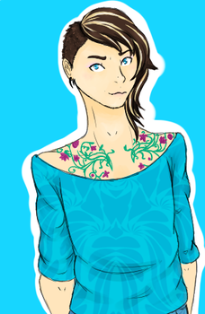 Character Redesign: Nicholas Madigan by MSSylphie