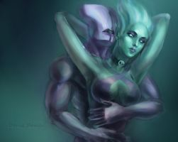 DotA 2, Faceless Void 'n Krobelus /2 by DariaDesign