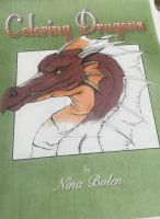 Coloring book Mock up cover by The-GoblinQueen