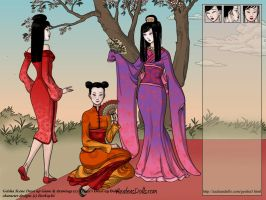 Dress up Game: Geisha Scene by beekay84