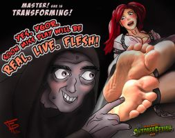 Ygor Tickles Fantasy Play by Fantasy-Play