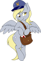 Lovey Dovey Derpy Vector by Bork88