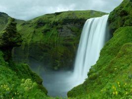 Skogarfoss by spartout
