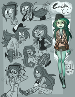 Cecilia - Gesture Sheet by Failureson