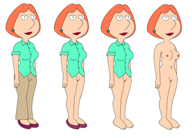 Lois Clothes Vanish by stumanbud