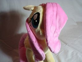 Fluttershy plush by SpaceVoyager