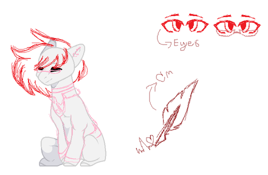 [WIP REFERENCE SHEET] by midnightmoon29