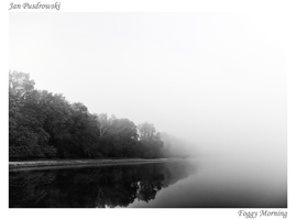 Foggy Morning by JanPusdrowski