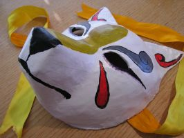 Mask Of Kitsune by LunarSpoon