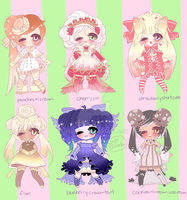 DESSERT ADOPTABLES closed by Lolisoup