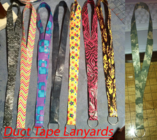 Duct Tape Lanyards by GuardianKrayla