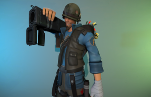 [SFM] Soldier-Scout by OkamiArtist