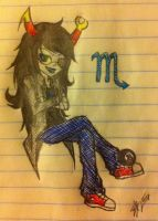 Request: Vriska Serket by Gizmologist