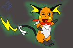 Raichu Commish by ThetaSigmaIV