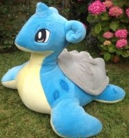 Giant PokeCen Lapras Plush