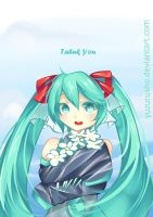 Hatsune Miku : Thank You by YuzuruSho