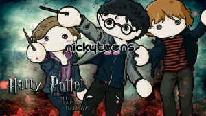 Harry Potter Deathly Hallows by NickyToons
