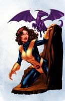 Robert Atkins Kitty Pryde Colors! by imafrakkincylon