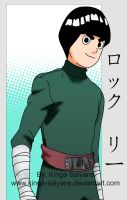 Naruto'wa seria - Rock Lee by kinga-saiyans