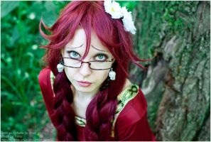 Grell's looking into your soul by shua-cosplay