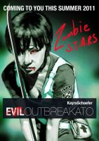 Evil Outbreakato poster by LeeBaba