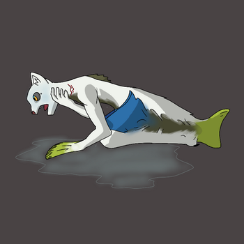 Fish Out of Water by BlackDragonTFArt