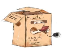 A friend in a box - Boxtrolls by Dragoeswild